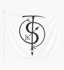 Static Tension Symbol Wall Tapestry