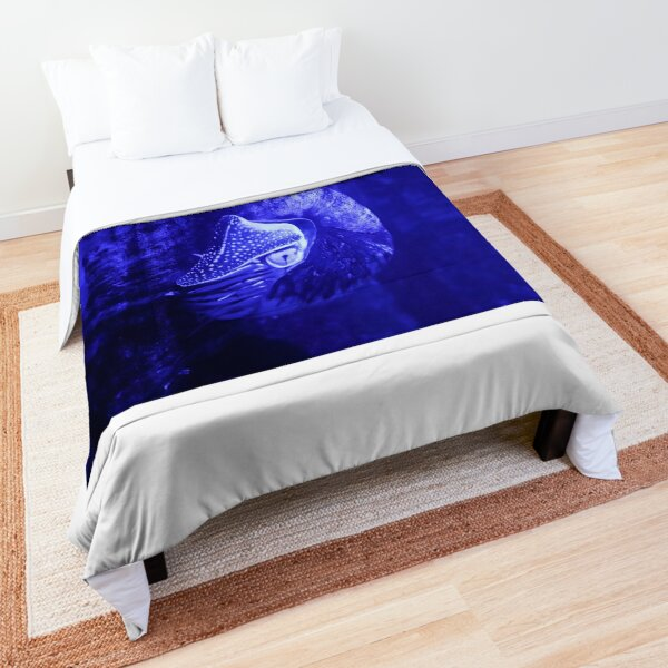 Neon Nautilus Comforter
