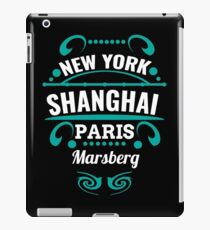 Marsberg - Our city is not world mopeds, but it should. iPad Case/Skin