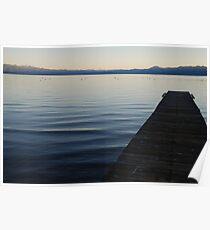 tahoe stillness Poster