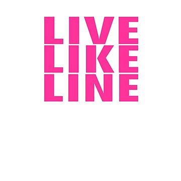 Volleyball Miracle Girl Live Like Line by vasebrothers
