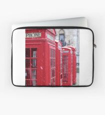 Red Telephone Boxes, London Laptop Sleeve