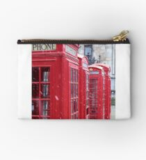 Red Telephone Boxes, London Studio Pouch