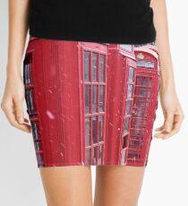Red Telephone Boxes, London Mini Skirt