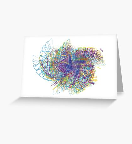 Scribble-a-tron Greeting Card