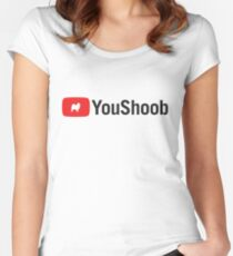 YouShoob Women's Fitted Scoop T-Shirt
