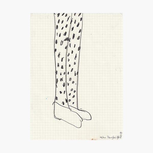 Janette's Legs Photographic Print