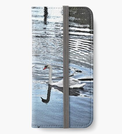 Swan Tranquility !  (interesting info in description) iPhone Wallet