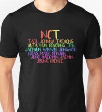 Camiseta ajustada NCT.