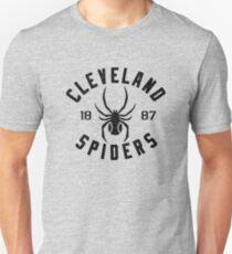 Camiseta ajustada DEFUNCT - CLEVELAND SPIDERS BÉISBOL 1887