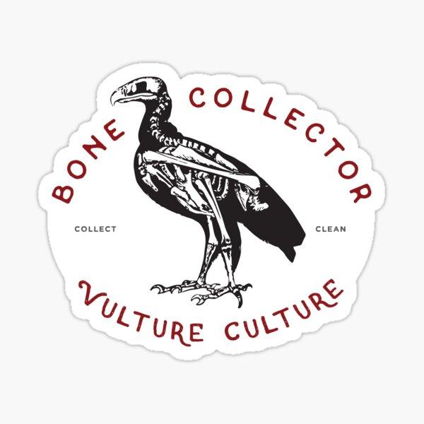 Bone Collector - Vulture Culture Sticker