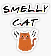Stinky cat Sticker