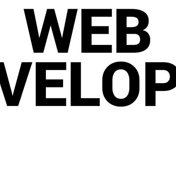 Web Developer Simple | Professions by epoliveira