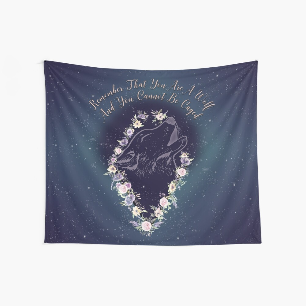 ACOWAR - Wolf Wandbehang