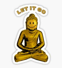 Buddha - Let it go Sticker