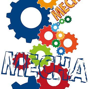 Mecha by cyberftomz