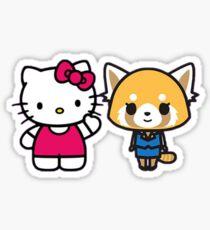 Hello Aggretsuko! Sticker