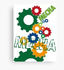 Mecha Canvas Print
