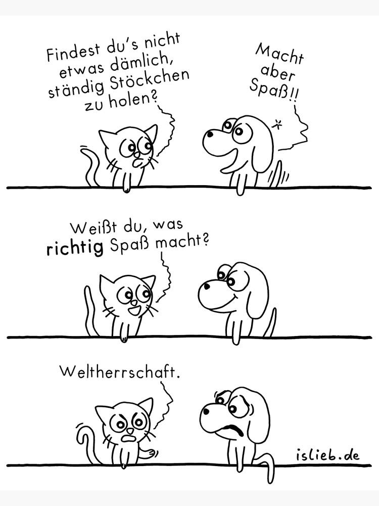Spass - islieb-Comic von islieb