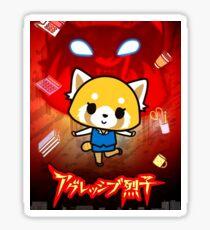 Aggretsuko Lifestyle Sticker