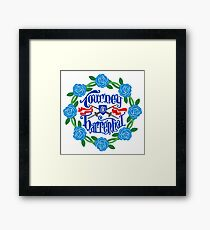 The Year of the False Spring Framed Print