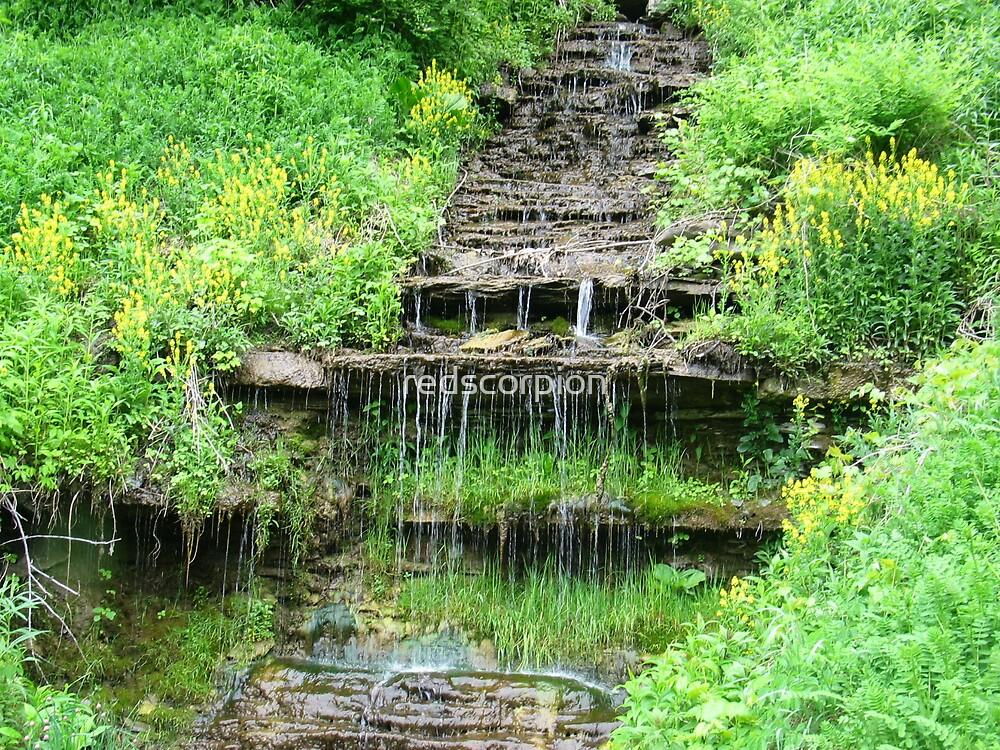 waterfall by redscorpion
