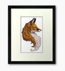 Red Fox Bust Framed Print