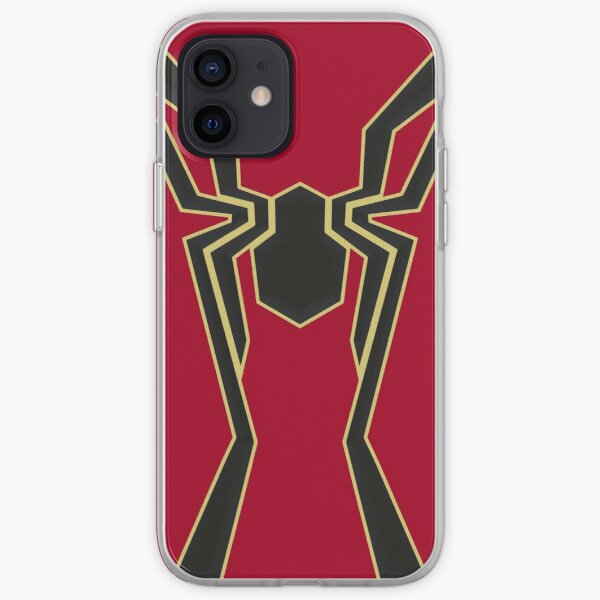 Symbole de Spider-man de fer Coque souple iPhone
