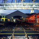Dusk at the Ballarat Rail Station  by cjcphotography
