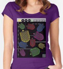 """Sheldon Wears Nanotubes""© Women's Fitted Scoop T-Shirt"