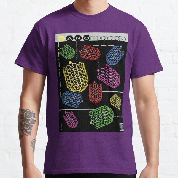 """""""Sheldon porte des nanotubes"""" © T-shirt classique"""