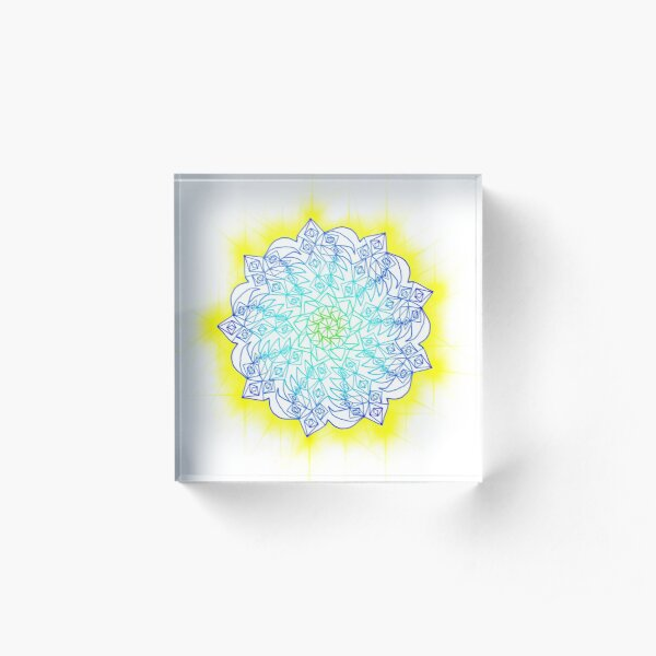 Shine bright starshine Acrylic Block