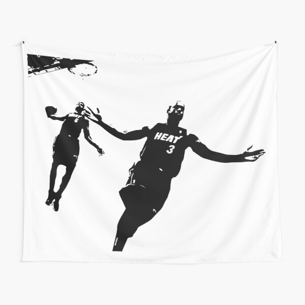 Dwayne Wade and LeBron  Tapestry