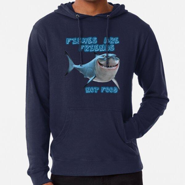 Bruce the Great White Shark Lightweight Hoodie