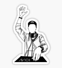 DJ avicii Sticker