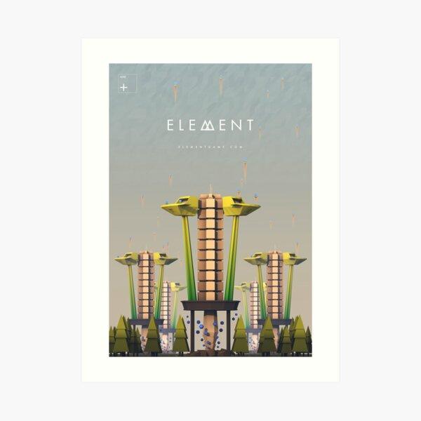 Element Mine Unit Artwork Art Print