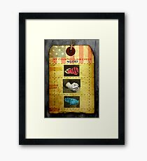 RANDom thoughts™: We've come to take our country back .3 Framed Print