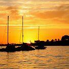 Eastern Beach Dawn by Paul Moore