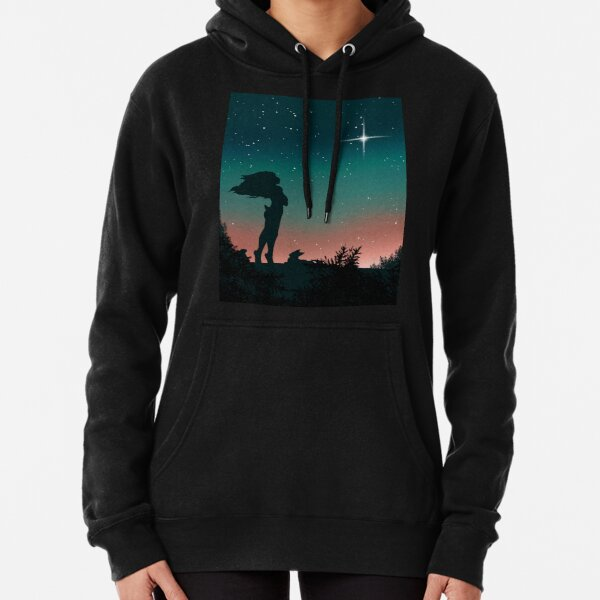 Thinking of the North Pullover Hoodie
