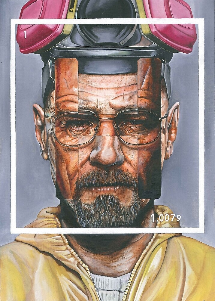 Oil Painting of Heisenberg by phizframe