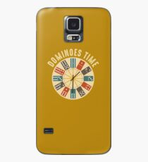 Funny Dominoes Shirt Vintage Retro Clock Graphic Case/Skin for Samsung Galaxy