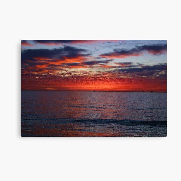 Sunset On Leighton Canvas Print