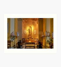 Collegiata of San Michele Arcangelo - Brisighella - Italy Art Print