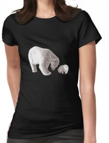 Polar Bears Womens Fitted T-Shirt