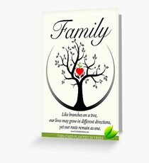 Family Greeting Card Greeting Card