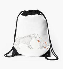 Abigail's Cat Love Drawstring Bag