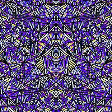 Purple Aztec by ArtsyRaine
