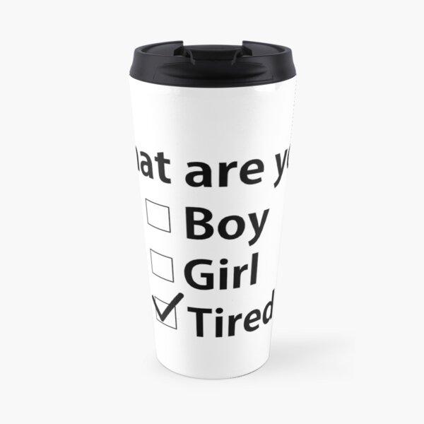 No Gender, Only Coffee Travel Mug