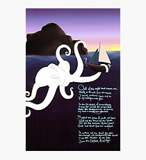 Invictus Octopus Photographic Print