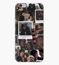 Damon and Elena - The Vampire Diaries iPhone Case